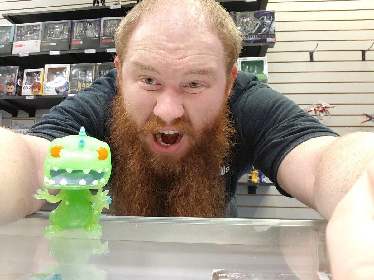 My #tbt is when #rugrats and #90scsrtoons were a thing. There was Reptar! The awesomely oversized green dinosaur that would always save the day when needed. I know it&#39;s not an old picture,  but this #funko #funkopop helps bring back the memories!<br>http://pic.twitter.com/Eyctmpnszv