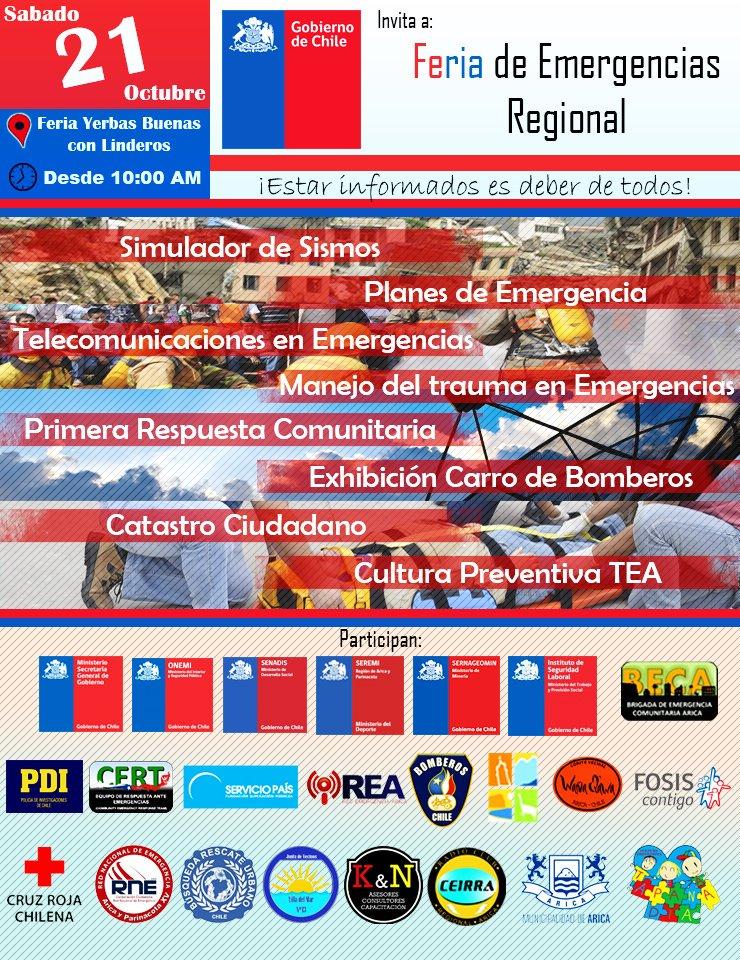 RT @Rne_Xv_Arica Sábado 21/10/2017 ubicación Linderos entre Yerbas buenas con Alejandro Fierro Arica Participa