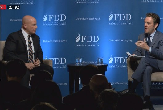 Gen.McMaster @FDD: #Iran has perpetuated the sectarian conflict in #Iraq&amp; #Syria to subvert both countries #SyrianDayOfRage #IranOutOfSyria<br>http://pic.twitter.com/TxJB4aS8AW
