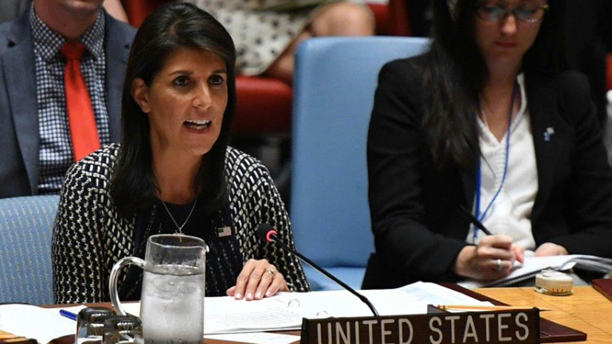 Embaixadora dos EUA na ONU diz que 'arma preferida' da Rússia é intervir em eleições https://t.co/Nl3O79XEhk