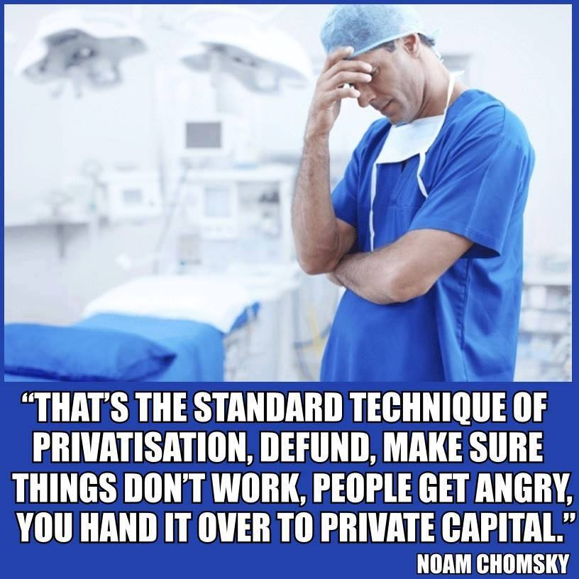 Because they are wrecking OUR NHS - on purpose #NoConfidence https://t...