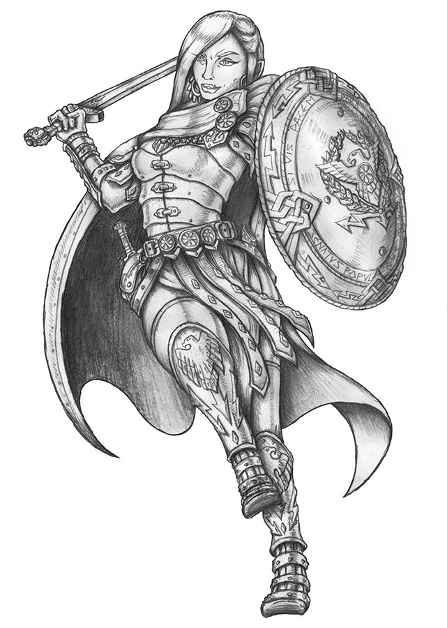 #commission Ellikos - Quarter-orc Fighter  http:// fav.me/dbr2ve1  &nbsp;   #dnd  #critters #Pencildrawing #grayscale #teamgoblin #rpg<br>http://pic.twitter.com/dWn65YNA4X