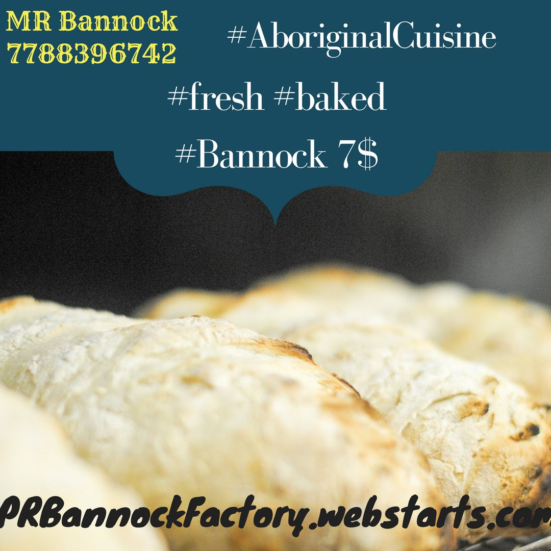 Try our newest product! Pizza oven Baked Bannock #handmade #local #bc #aboriginalbusiness #vancouver #northvan #westvan #eastvan #vancity<br>http://pic.twitter.com/GzRNNd6G0H