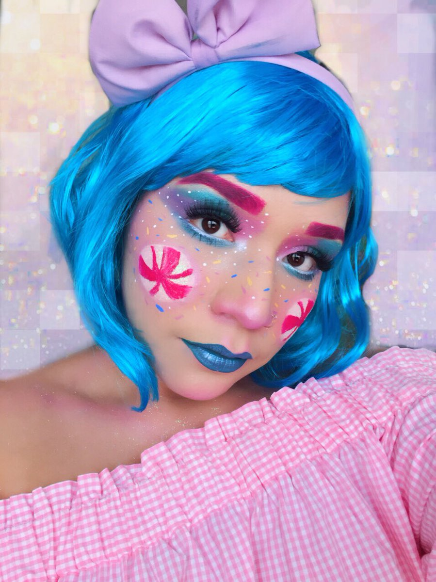 Candy Land Princess   •details are on my ig  @makeupbymako_  #makeupartist #halloween<br>http://pic.twitter.com/VPpx8K9mNE