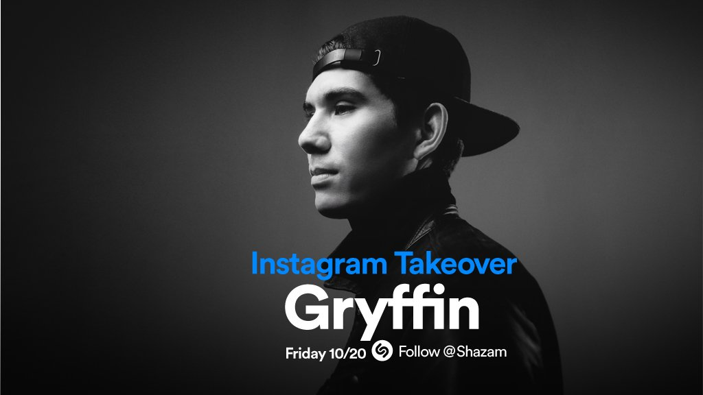 .@gryffinofficial is taking over our @in...