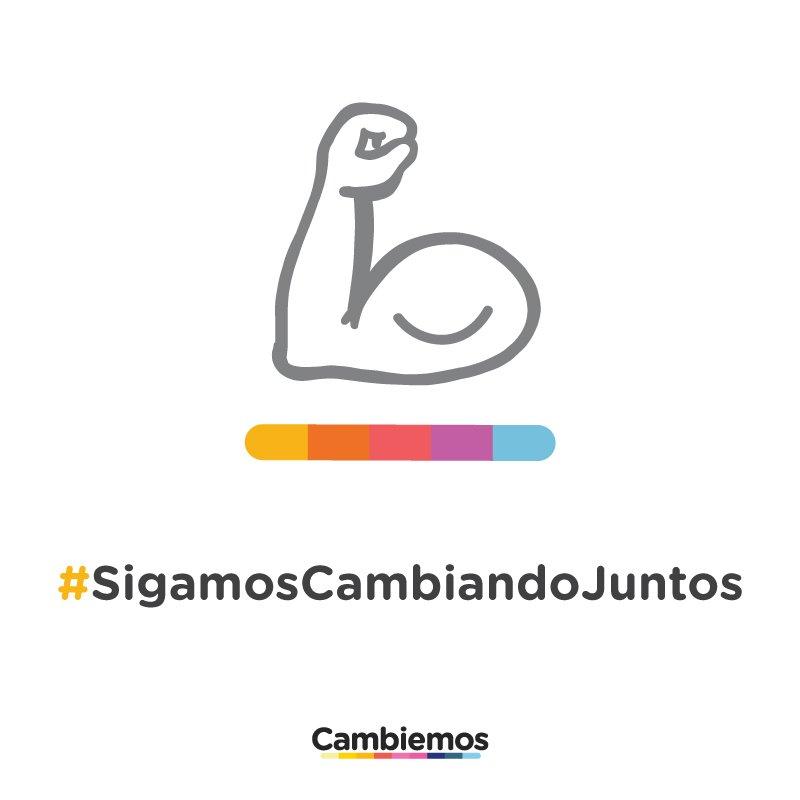 #SigamosCambiandoJuntos https://t.co/BAp79HfYyE