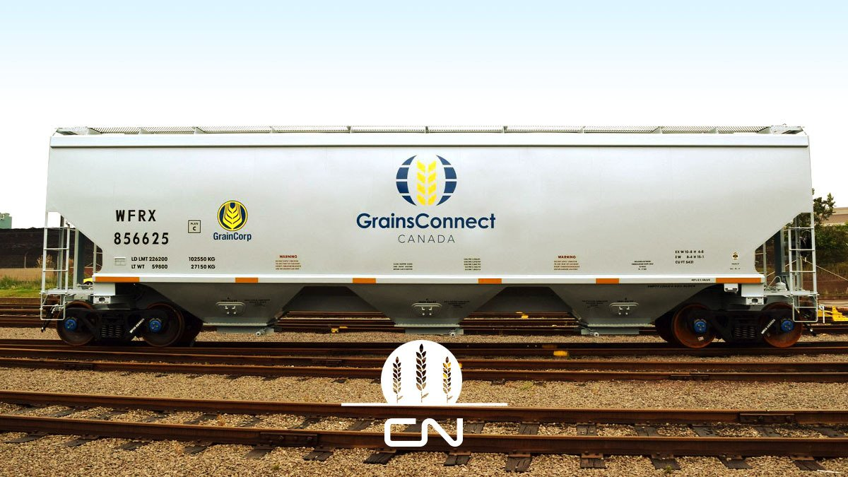 Canadian National On Twitter First New Grainsconnect Canada Car