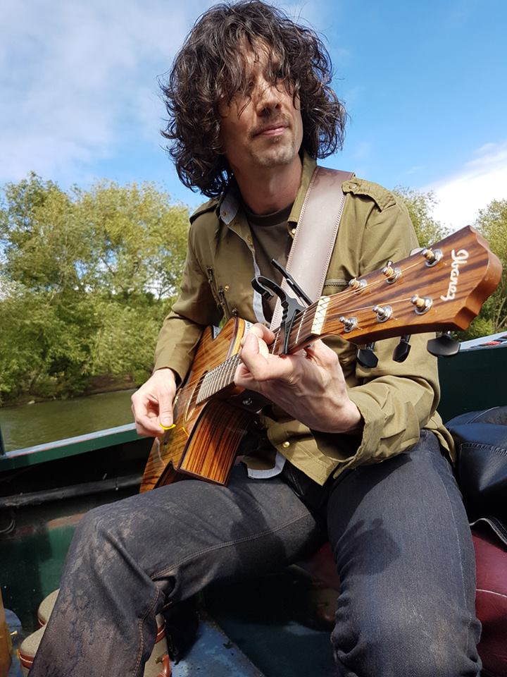 Just me, a boat, a guitar, and an audience | #watermusic #livemusic #barge #waterways #guitar #unplugged #acousticmusic #acousticguitar<br>http://pic.twitter.com/5YUVMcCgnP