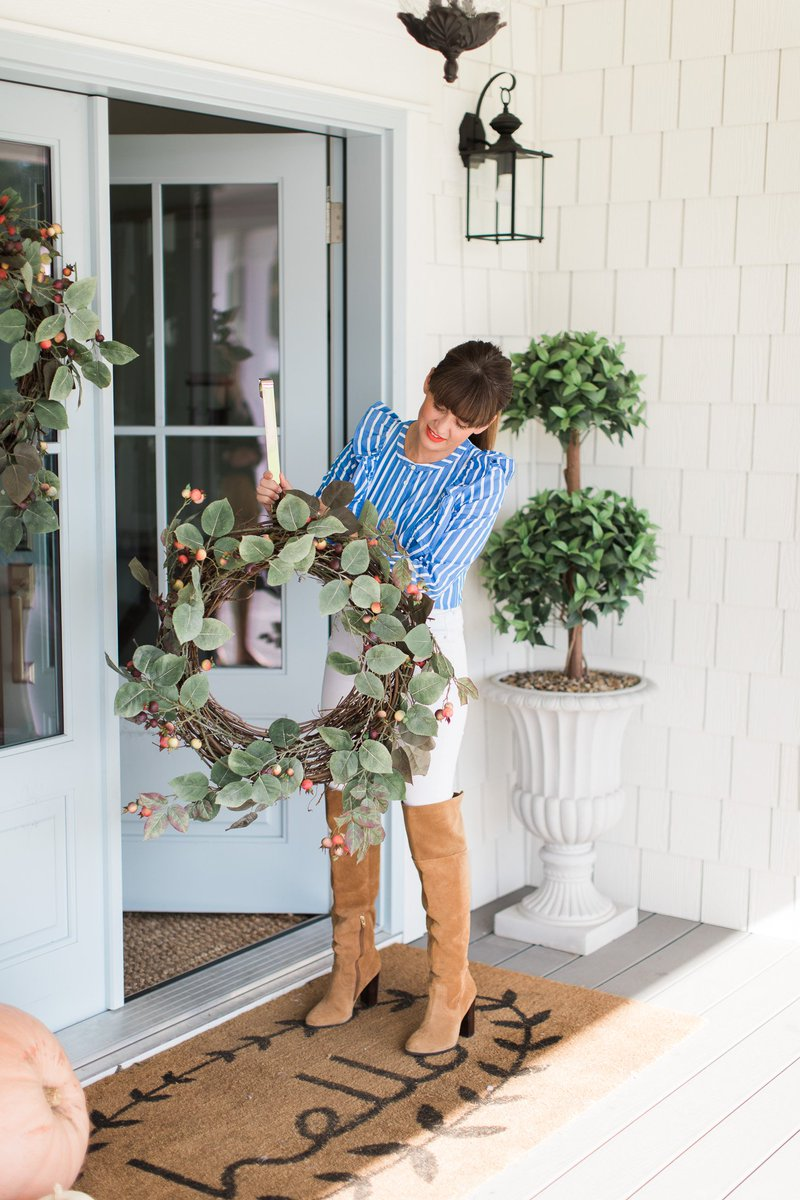jillian harris on twitter my wreaths from pottery barn are on sale check them out here httpstcodw8f9jspzx