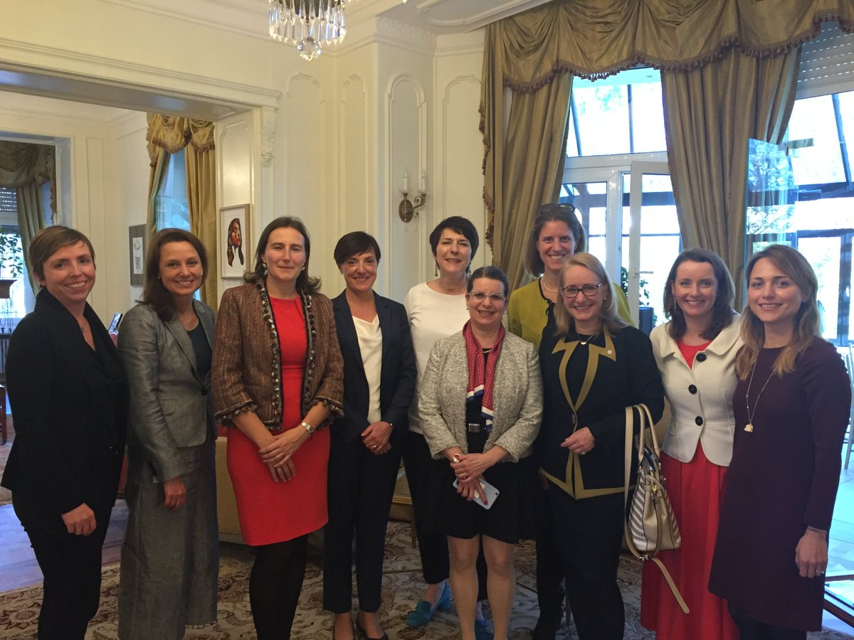 #EIBwomen out in force attending insightful @Citi Womenomics  #digitalisation conference hosted by US Embassy in Lux #genderequality<br>http://pic.twitter.com/EdUEuJgCd3