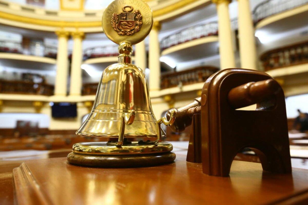 [AHORA] Se suspende sesión del #Pleno hasta las 16:00 hrs. https://t.c...