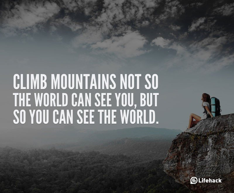 Place yourself on top of the world! Let&#39;s climb  #success #high #climb #quote #motivation<br>http://pic.twitter.com/D0vRriZnYs