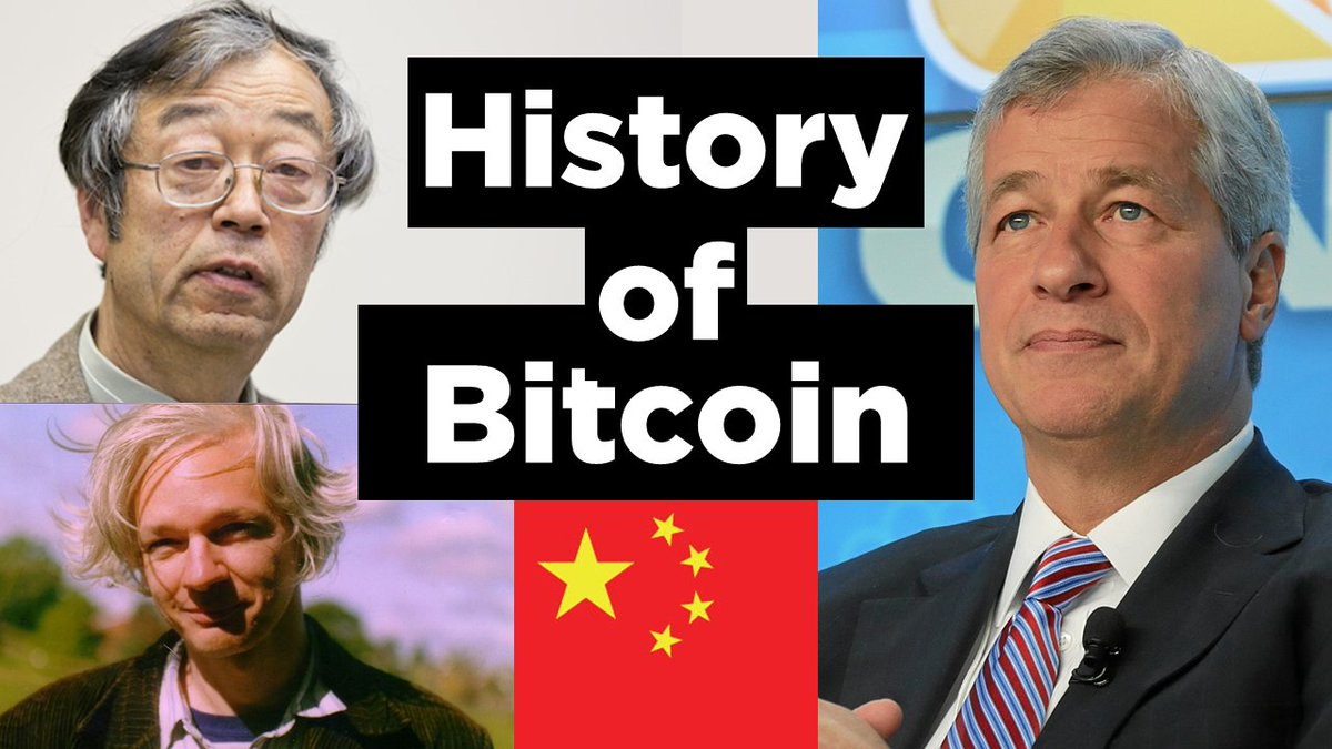 Want to know  #Bitcoin  history?  Made a Video   https:// youtu.be/amZ1d_tl7BQ  &nbsp;    #BitcoinCash #satoshis #cryptocurrency #ethereum #julianassange <br>http://pic.twitter.com/fyV2uyxq1f