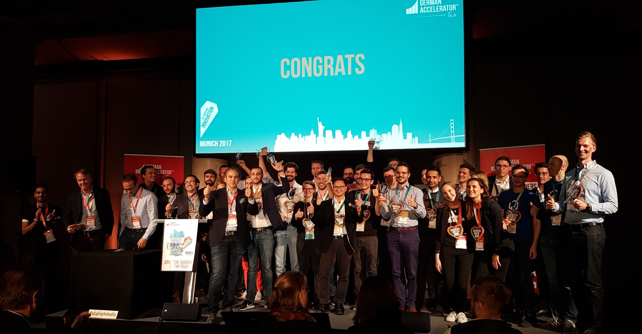 German Accelerator Winners