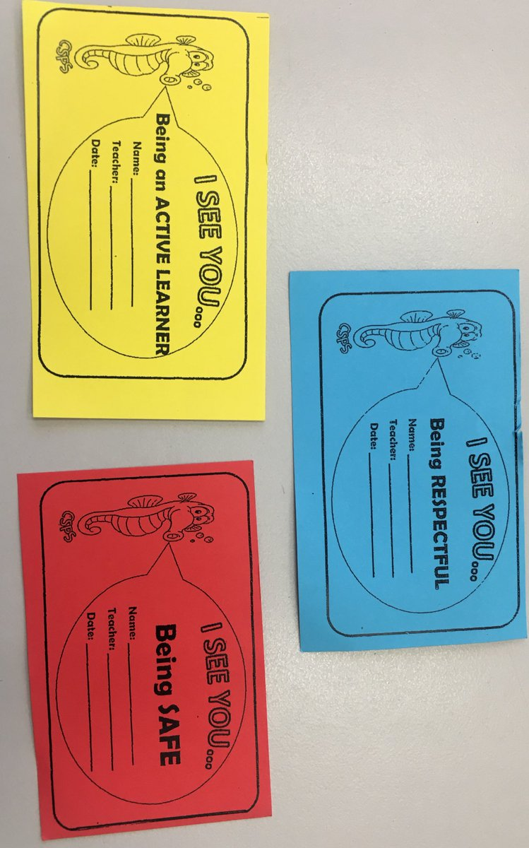 #PBL cards to acknowledge positive behaviour @CronullaSouthPS with students knowing why they received one- #safe #respectful #activelearner<br>http://pic.twitter.com/3gdEYo836i