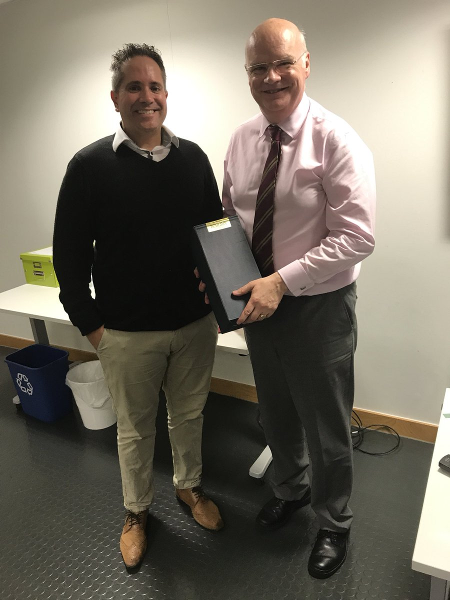 Very proud to present the ever knowledgeable @GrahamBrack with @Cornwall_LPC award to contributions to pharmacy #inspirational <br>http://pic.twitter.com/TnkUVV1O2M