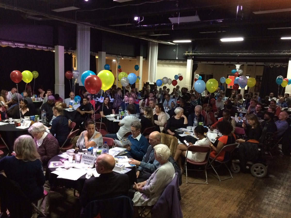 Always brings a tear to our eye to feel the love in the room at our thank you awards #elhty