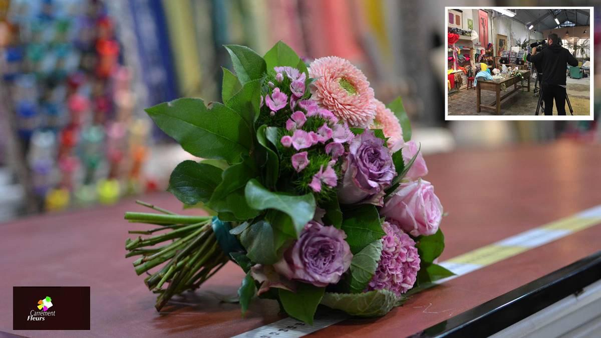 Flash bis -  Fleuristes – Carrément Fleurs c'est Cousu main sur M6 https://t.co/VJtivCYI9f