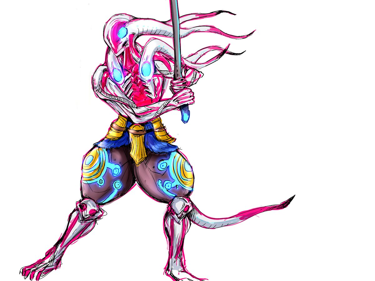 Tekken No Twitter Lucrezia Fornasini Shares With Us Her Awesome Yoshimitsu Design What Other Fanart Should We See Fanartfriday