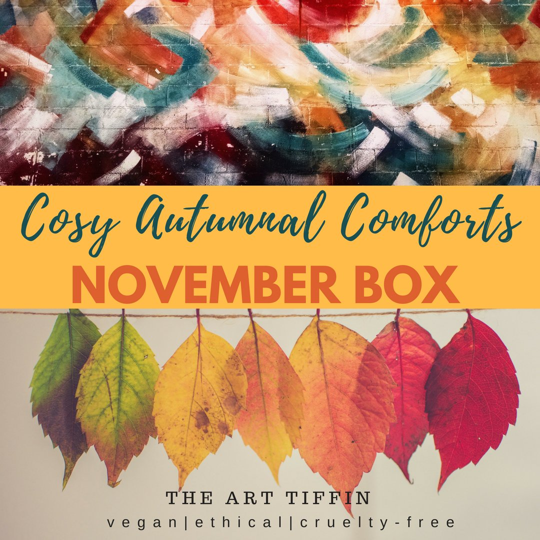 Hey #justacard not just a card, we have also researched and curated #vegan #ethical art gift boxes and our next is full of #Autumn colours!<br>http://pic.twitter.com/lEUmpjucV2