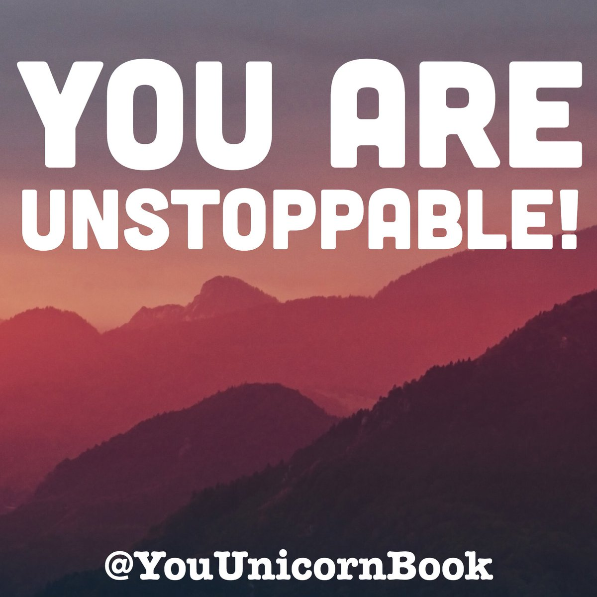 You are unstoppable  #youareaunicornbook #positivity #mindfulness #happiness #journal #youareaunicorn #amazon #VincentVincent #unicorn<br>http://pic.twitter.com/XpwgDj9jzF