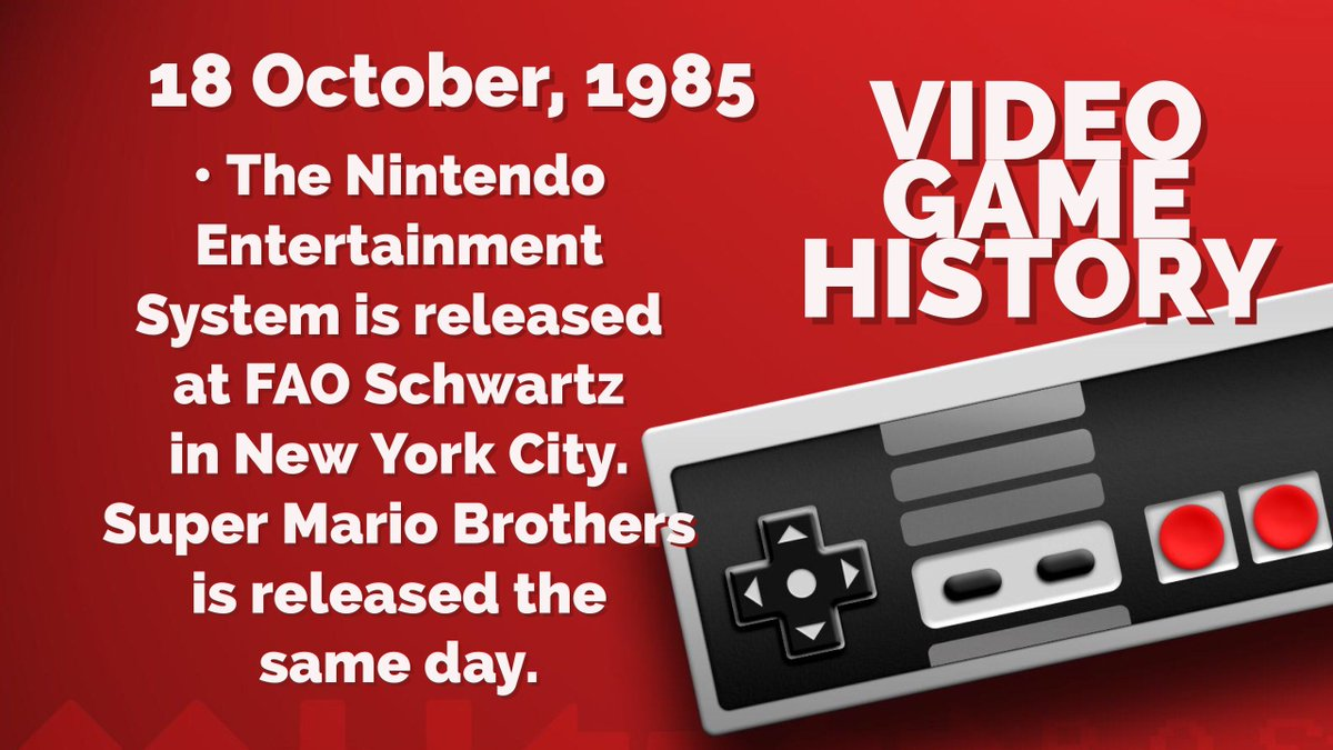 •VIDEO GAME HISTORY• NES &amp; The Mario Bros  #Nintendo #gaming #history #gamedev #indiedev #retrogaming #games #tech #twitch #TeamEmmmmsie<br>http://pic.twitter.com/wDz2yoArHu