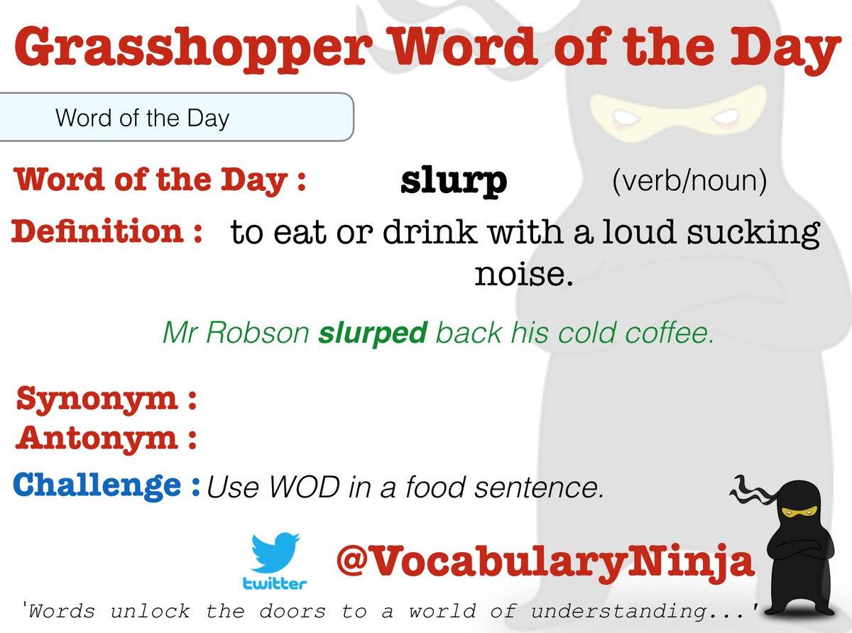 Vocabulary Ninja on Twitter: