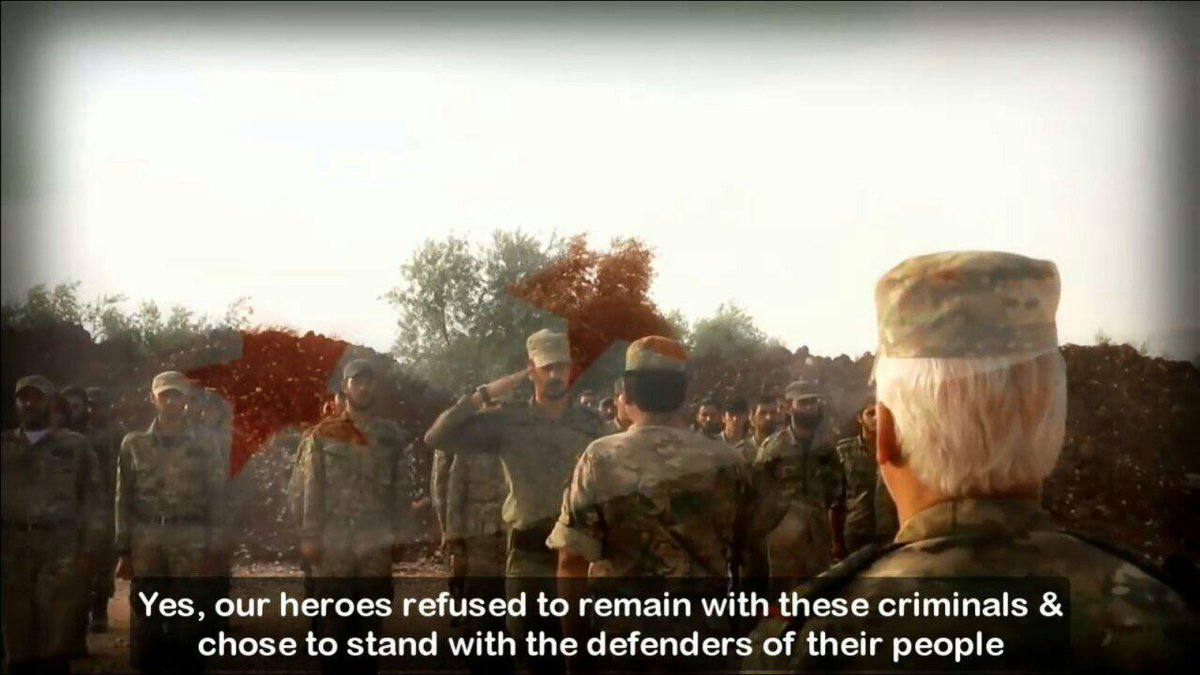 &quot;Men of #Syria who rejected injustice &amp; refused to align themselves with traitors...&quot; Officers of the Revolution:  &gt;  http:// youtu.be/Ju-oPVO0td4  &nbsp;  <br>http://pic.twitter.com/fRilzPKKk3