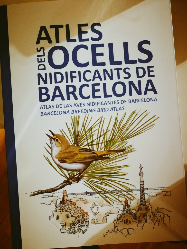 Happy to have contributed to the Barcelona Breeding Bird Atlas which includes amazing data on #EcosystemServices provided by urban birds! <br>http://pic.twitter.com/8Z67mqaRam