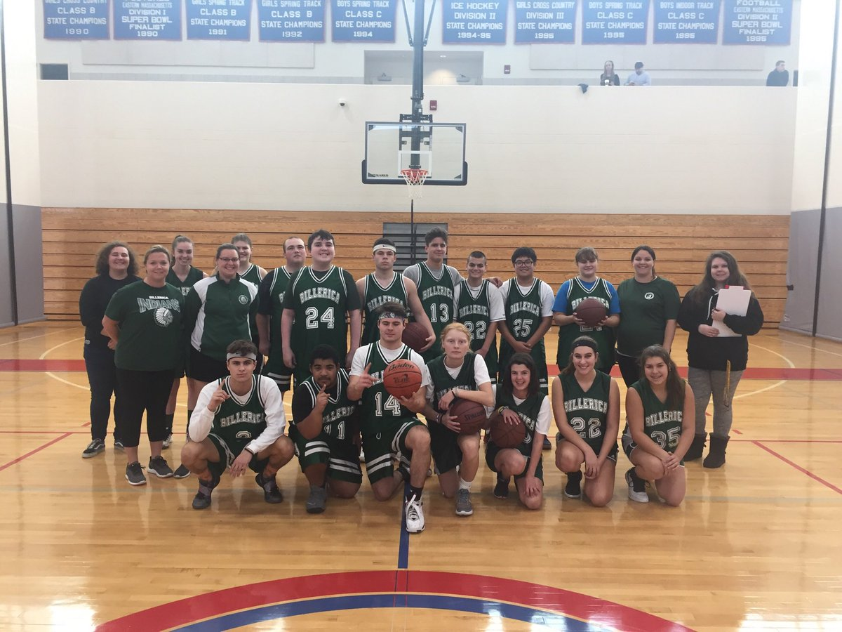 Kicking off the 1st Unified Basketball game! A &quot;We Truly are BMHS&quot; #PRIDE <br>http://pic.twitter.com/v3v4Rcvpsd