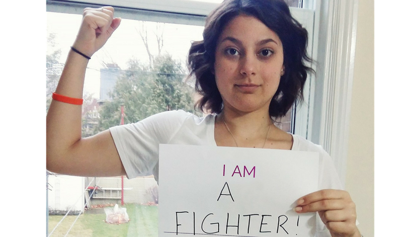 What does brave mean to you? #CancerSurvivor @AdriMLombardo says it&#39;s not about a brave face, but being honest:  http:// bit.ly/2gsMasp  &nbsp;  <br>http://pic.twitter.com/ui2NhKUjrv