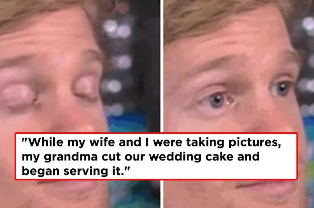 17 Wedding Guest Horror Stories That Ll Make You Say I Everyone Http Bzfd It 2ioebwv Pic Twitter E0tzopbtwy