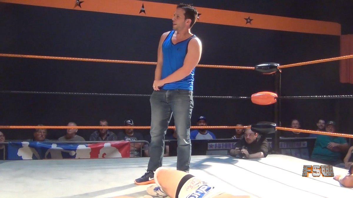 Filthy wrestling match