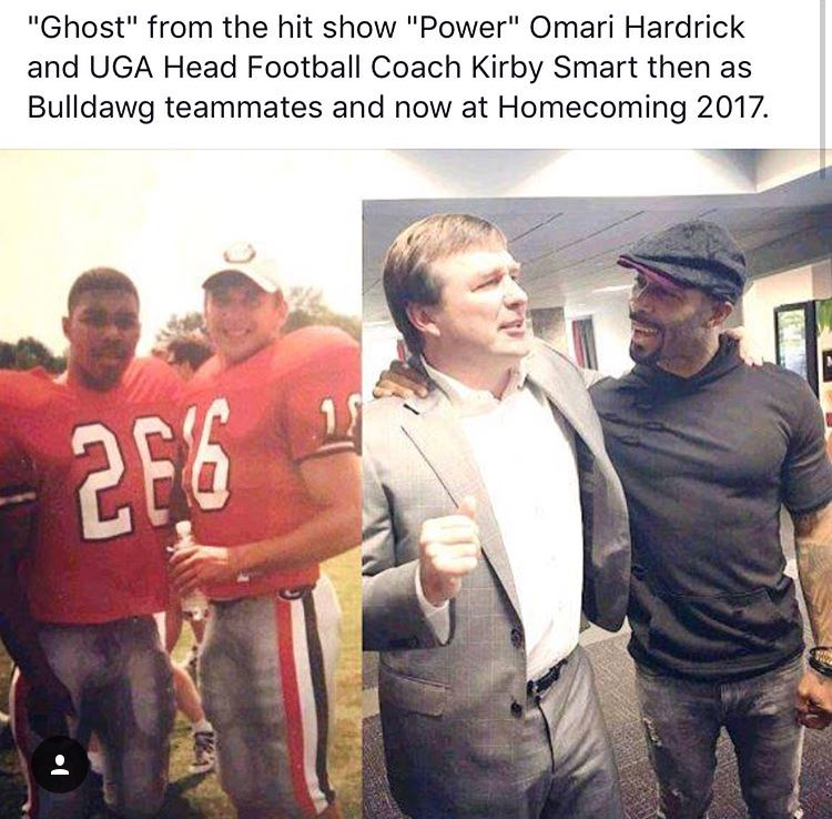 What a #TBT. Both men doing pretty good in 2017 <br>http://pic.twitter.com/uA2bpoCSt4