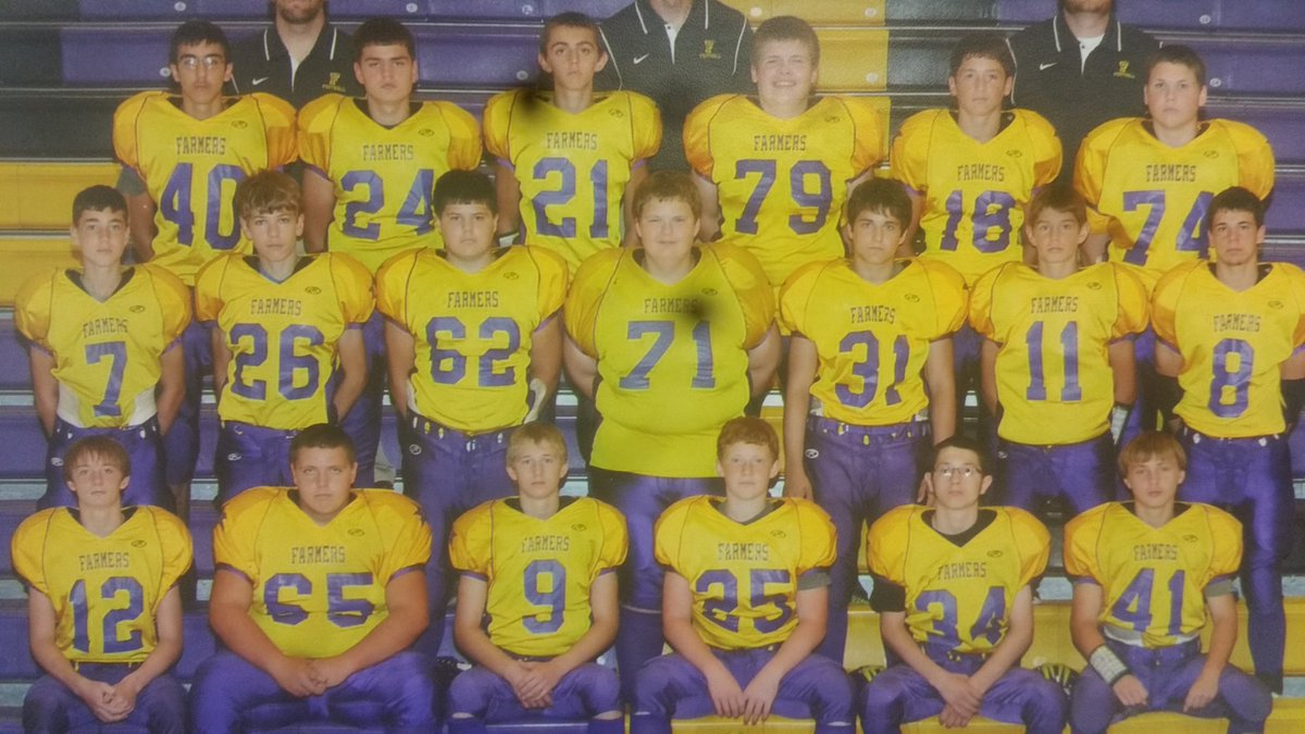In honor of Senior Night tomorrow, I decided to do a little #ThrowbackThursday to Freshman year when I was first introduced to these guys! <br>http://pic.twitter.com/Oa2zWCcik7