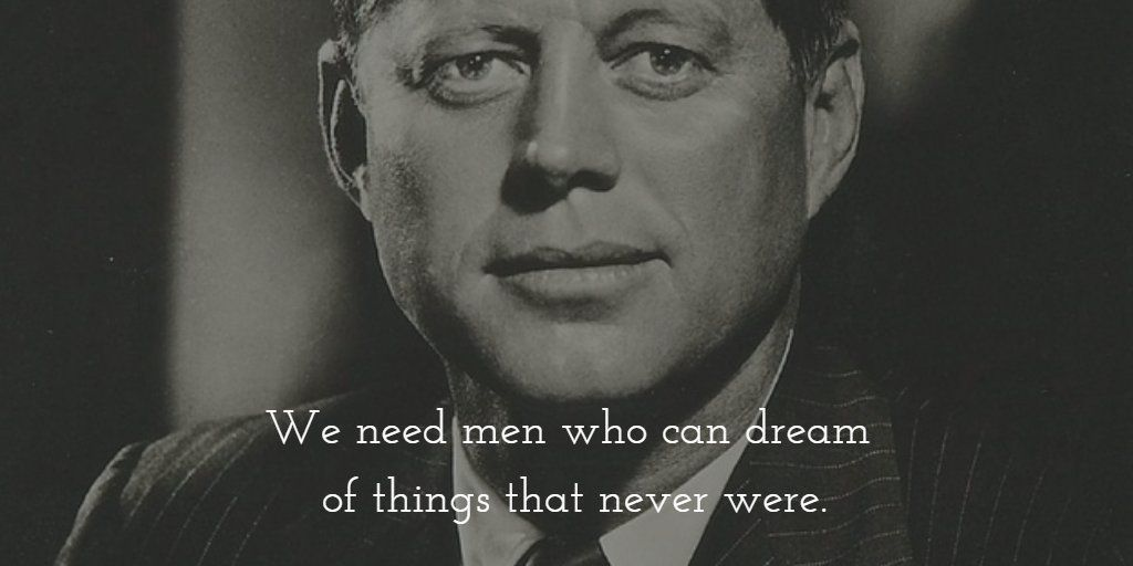 We need men who can dream of things that never were. #quote #Motivation #startup<br>http://pic.twitter.com/Nw0sRo1owk