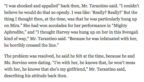 if only Quentin Tarantino had dated ALL the women in Hollywood this un...