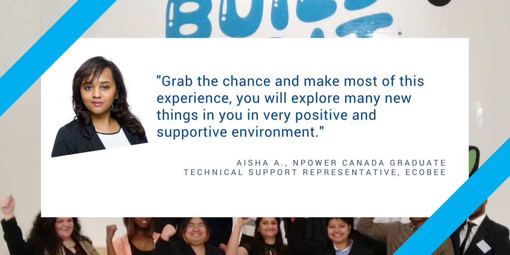 Npower Canada On Twitter We Asked Our Graduates What They Would