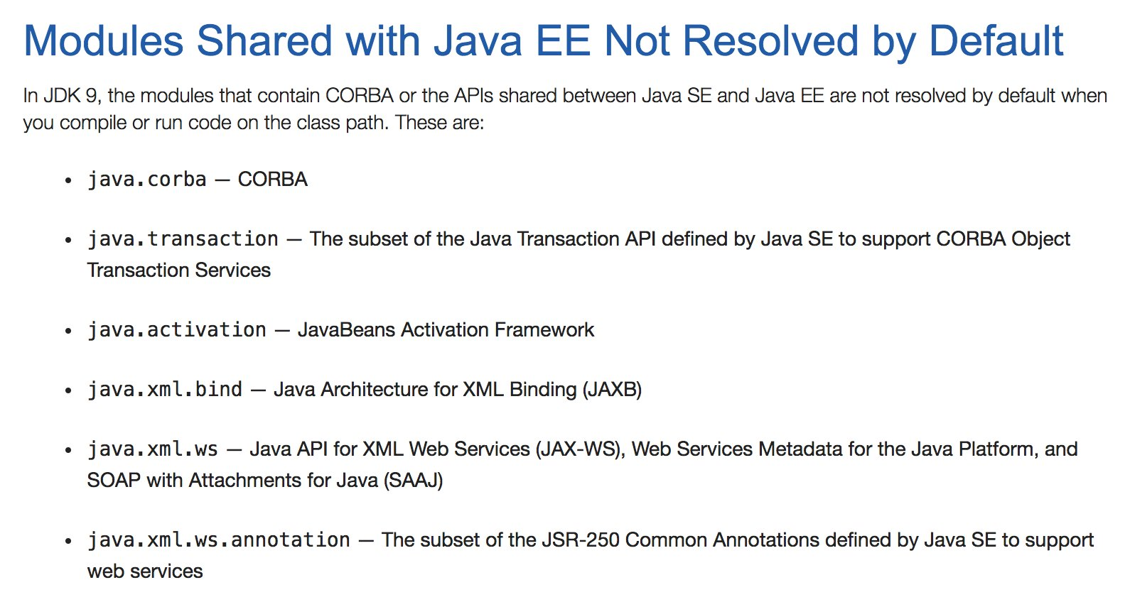 javabean activation framework objects