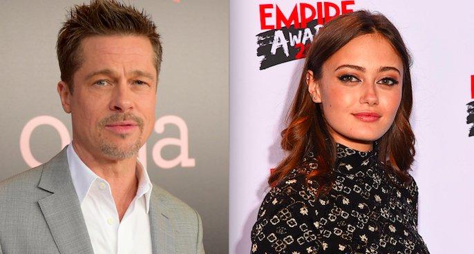 Brad Pitt'in yeni sevgilisi, Angelina Jolie ile aynı filmde rol alan E...