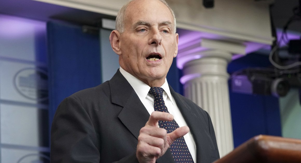 Full text: John Kelly's remarks on Trump's phone call to military wido...