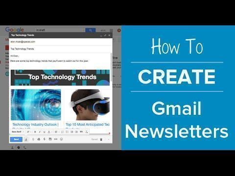 How To Create an Email #Newsletter in #Gmail No html No Coding  #email #blogger #emailmarketing #marketing   https:// buff.ly/2yu20sG  &nbsp;  <br>http://pic.twitter.com/svvdsBTYkL