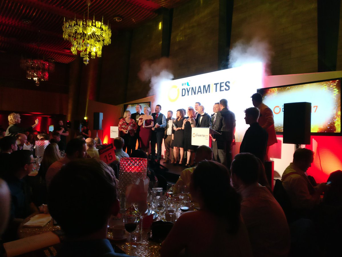 Another top notch @dynamonortheast event promoting the amazing north east #IT and #Tech industry #dynamites17 #NorthEast #winners <br>http://pic.twitter.com/iJAG1fE2ez