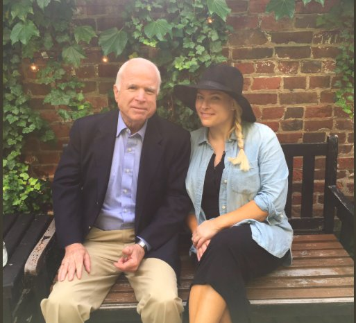 John McCain to join daughter Meghan McCain on 'The View' for her birth...