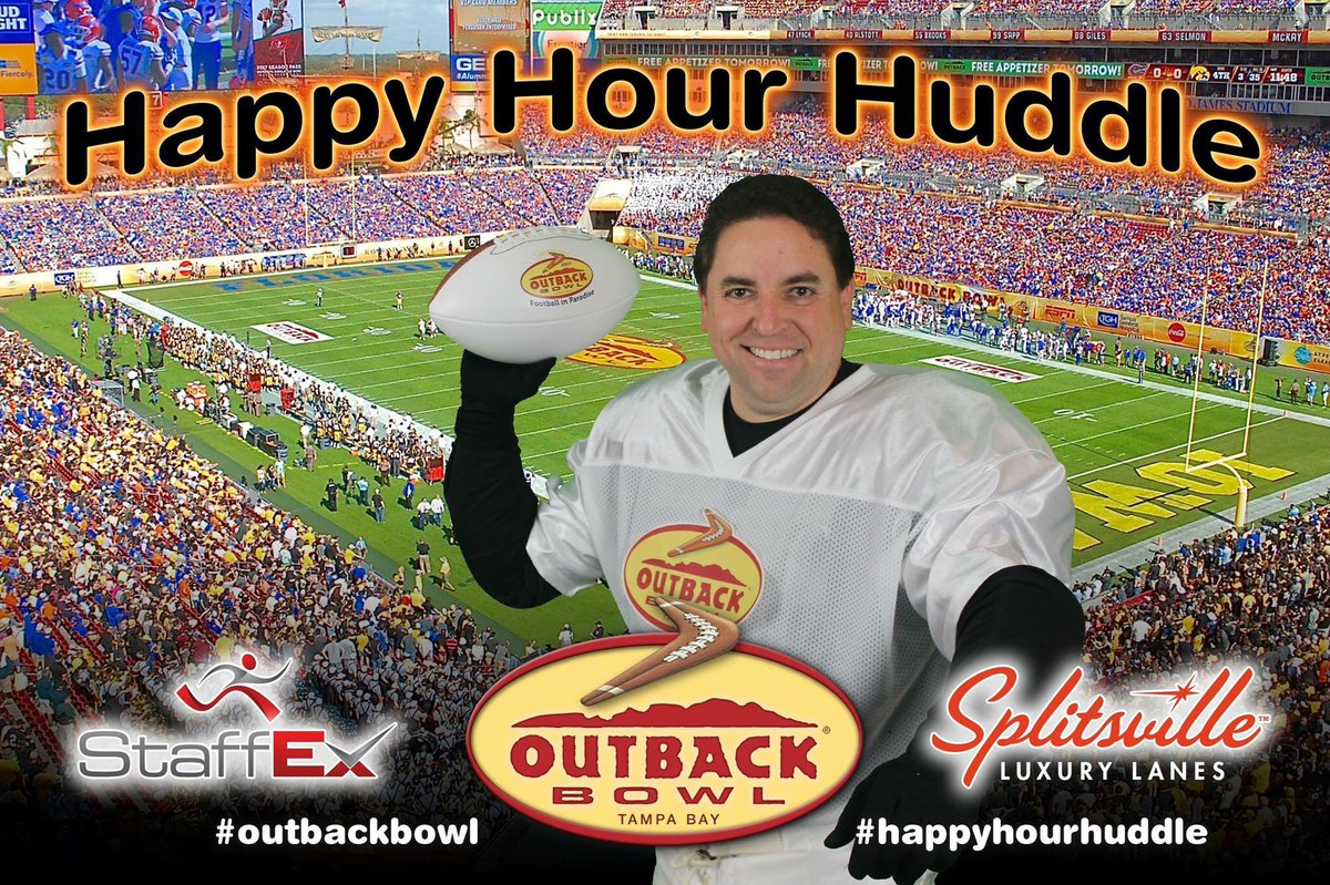 Time for the Outback Bowl StaffEx Happy...