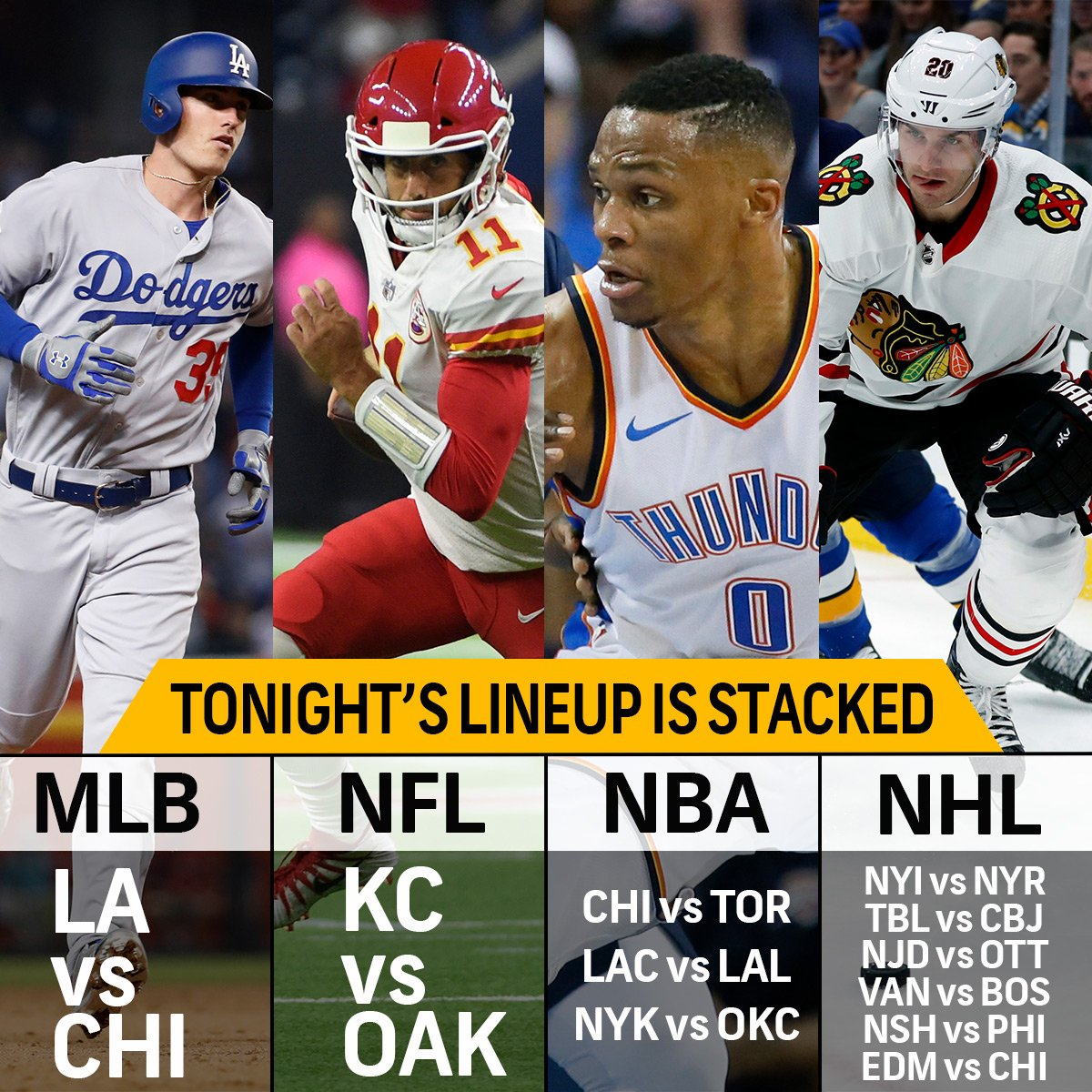 Tonight, these  sports will be going on all at once. #Blessed <br>http://pic.twitter.com/YBCbTWm97e