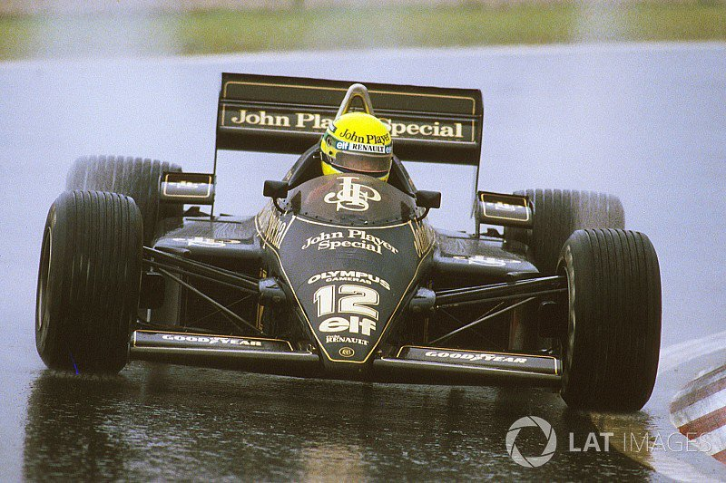Promotion: Wall art honouring Ayrton Senna&#39;s first-ever #F1 Grand Prix victory for Lotus.  https://www. motorsport.com/f1/news/ayrton -senna-first-formula-1-victory-967490/ &nbsp; … <br>http://pic.twitter.com/st12iaiWn9