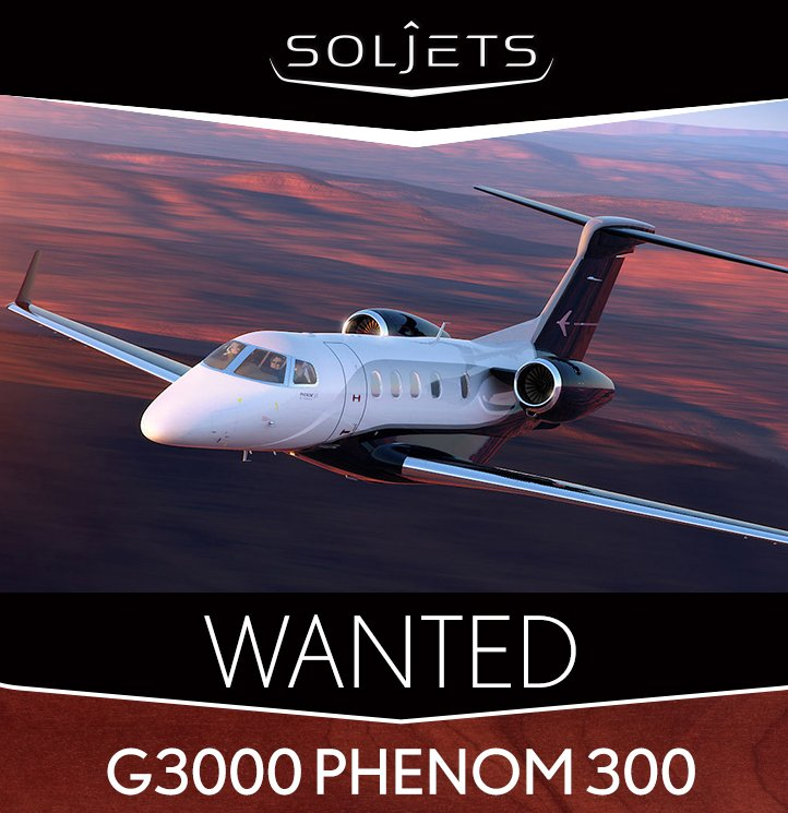 Wanted Immediately - G3000 Phenom 300 by @SOLJETS #bizjet #bizav #aircraftwanted See their requirement at  http:// ow.ly/MMNF30g01vP  &nbsp;  <br>http://pic.twitter.com/BOEpzeSLB2