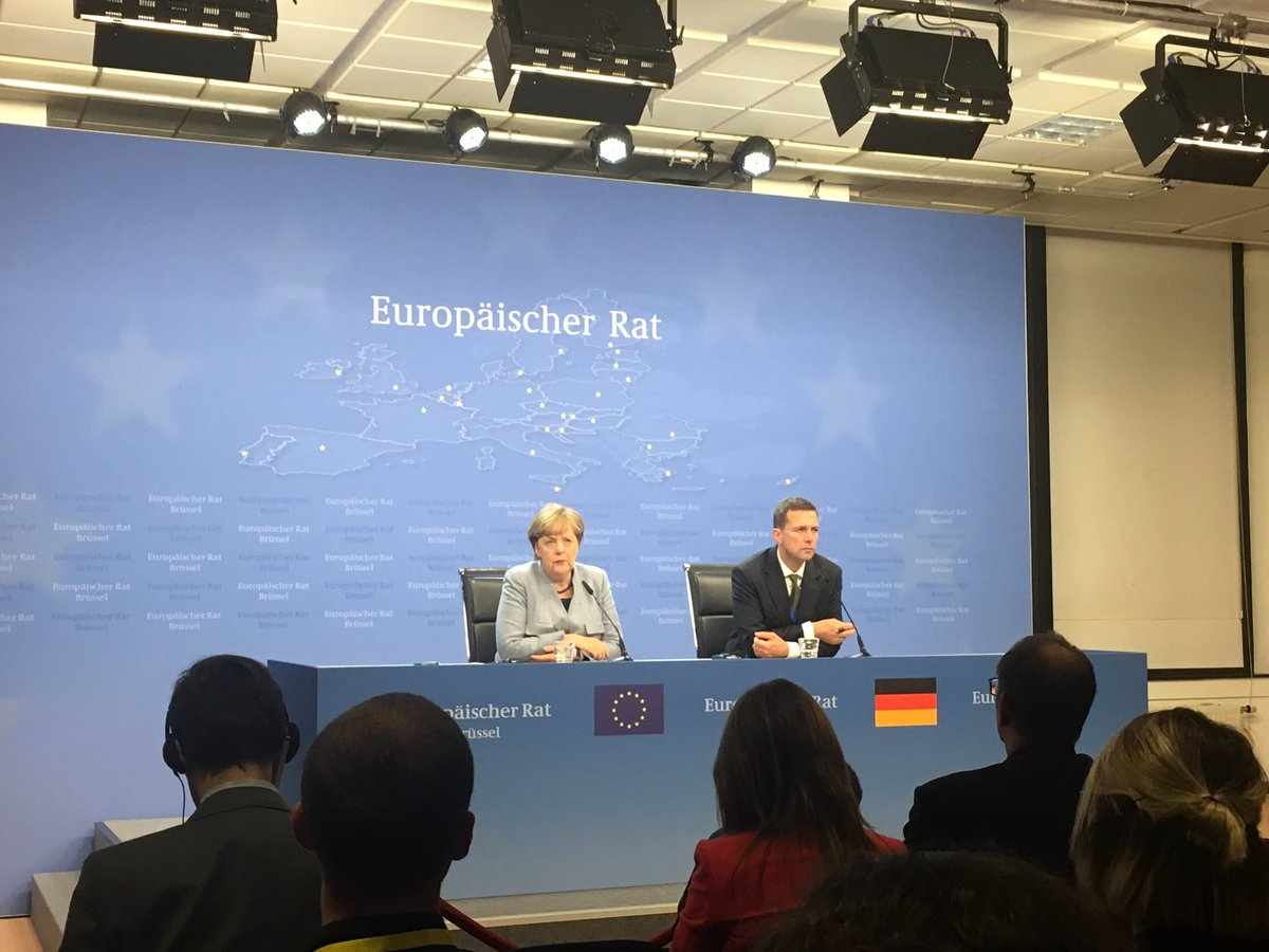 &quot;I see absolutely zero indication that we will not succeed in having a deal (with UK)&quot;, says #Merkel after day 1 of #EUCO #Brexit<br>http://pic.twitter.com/hXguTzznqt