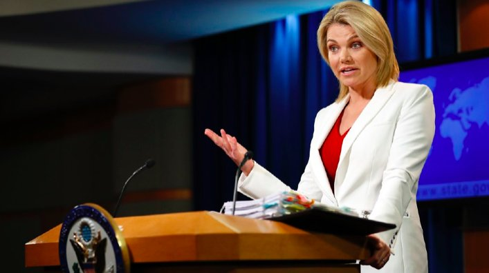 State Department: 'Not aware' of Iranian coordination with Iraq https:...